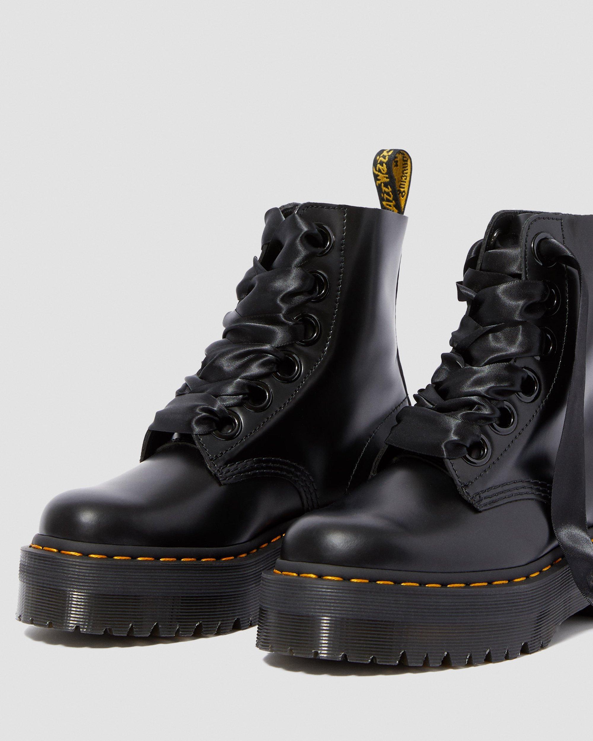 dr martens pascal lace up boot black buttero exclusive, Dr
