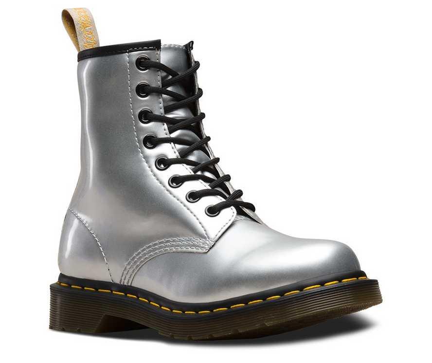 8e4fa9d974ea VEGAN 1460 METALLIC CHROME | Women's Boots, Shoes & Sandals | Dr ...