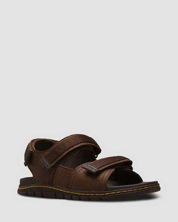 TAN+DARK BROWN | Sandals | Dr. Martens