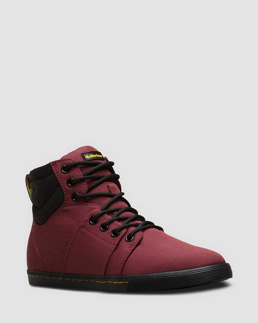 Youth Rozarya Canvas Casual Boots   Dr Martens
