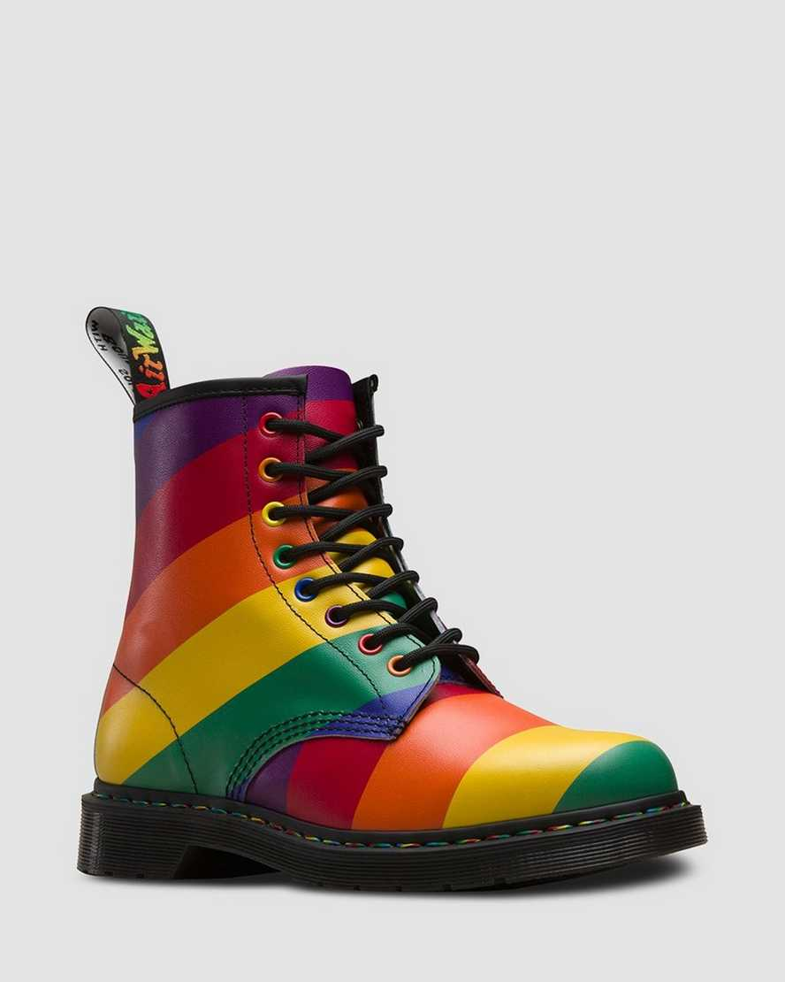 1460 Pride Leather Lace Up Boots | Dr Martens