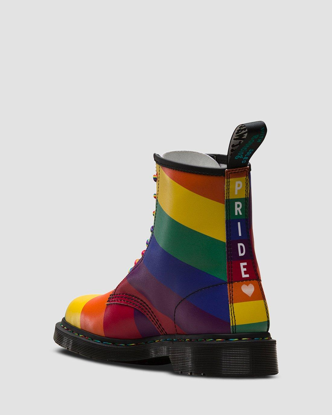 dr martens rainbow 1460
