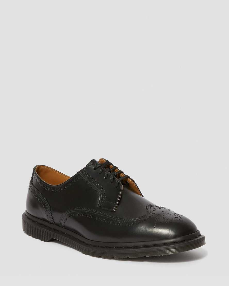 Kelvin II Smooth Leather Brogue Shoes | Dr Martens