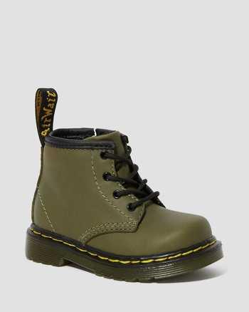 DMS OLIVE   Boots   Dr. Martens