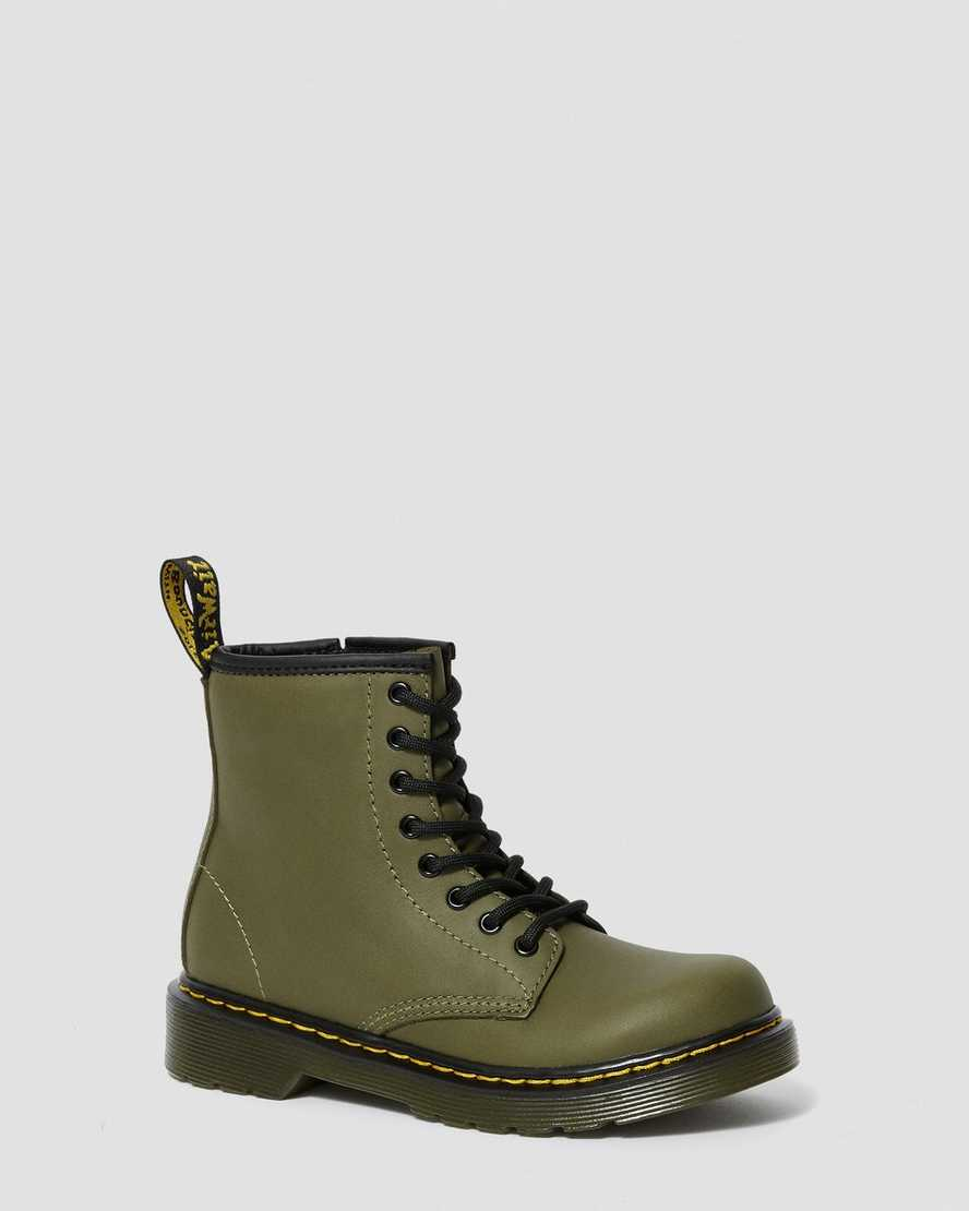 JUNIOR 1460 LEATHER LACE UP BOOTS   Dr Martens
