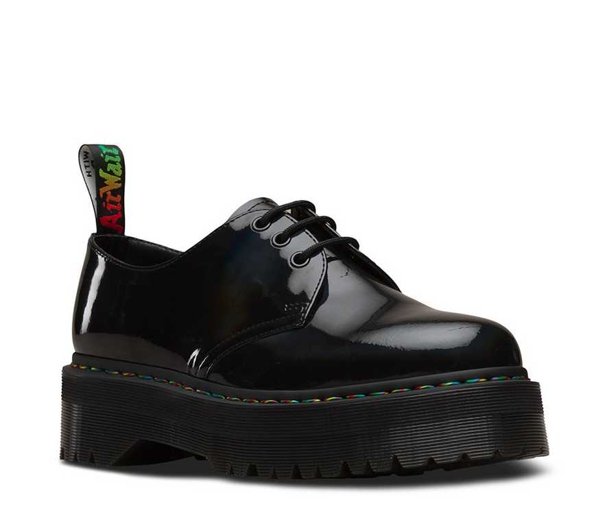 52c9addc35 1461 RAINBOW PATENT PLATFORM | Men's Shoes | Dr. Martens Official