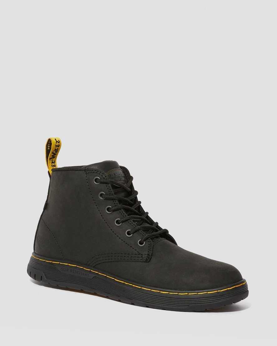 Ledger Slip Resistant Leather Work Boots | Dr Martens