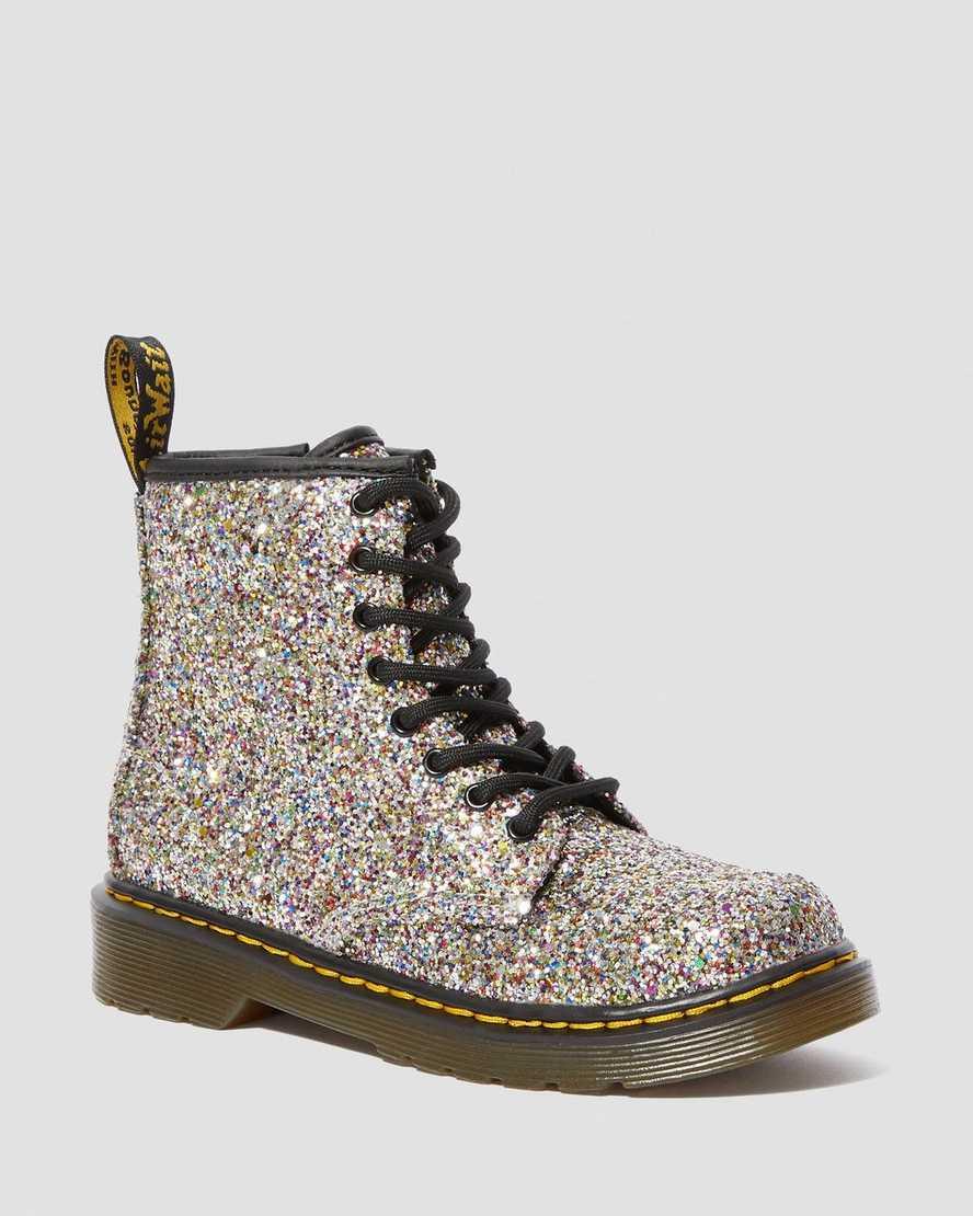 top fashion buy good shopping DR MARTENS JUNIOR 1460 CHUNKY GLITTER