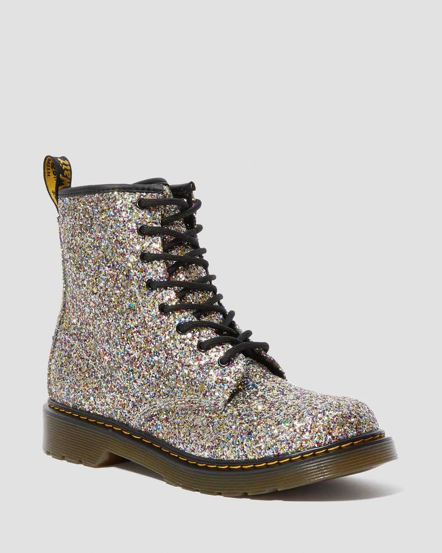 exquisite design uk cheap sale big discount DR MARTENS YOUTH 1460 CHUNKY GLITTER