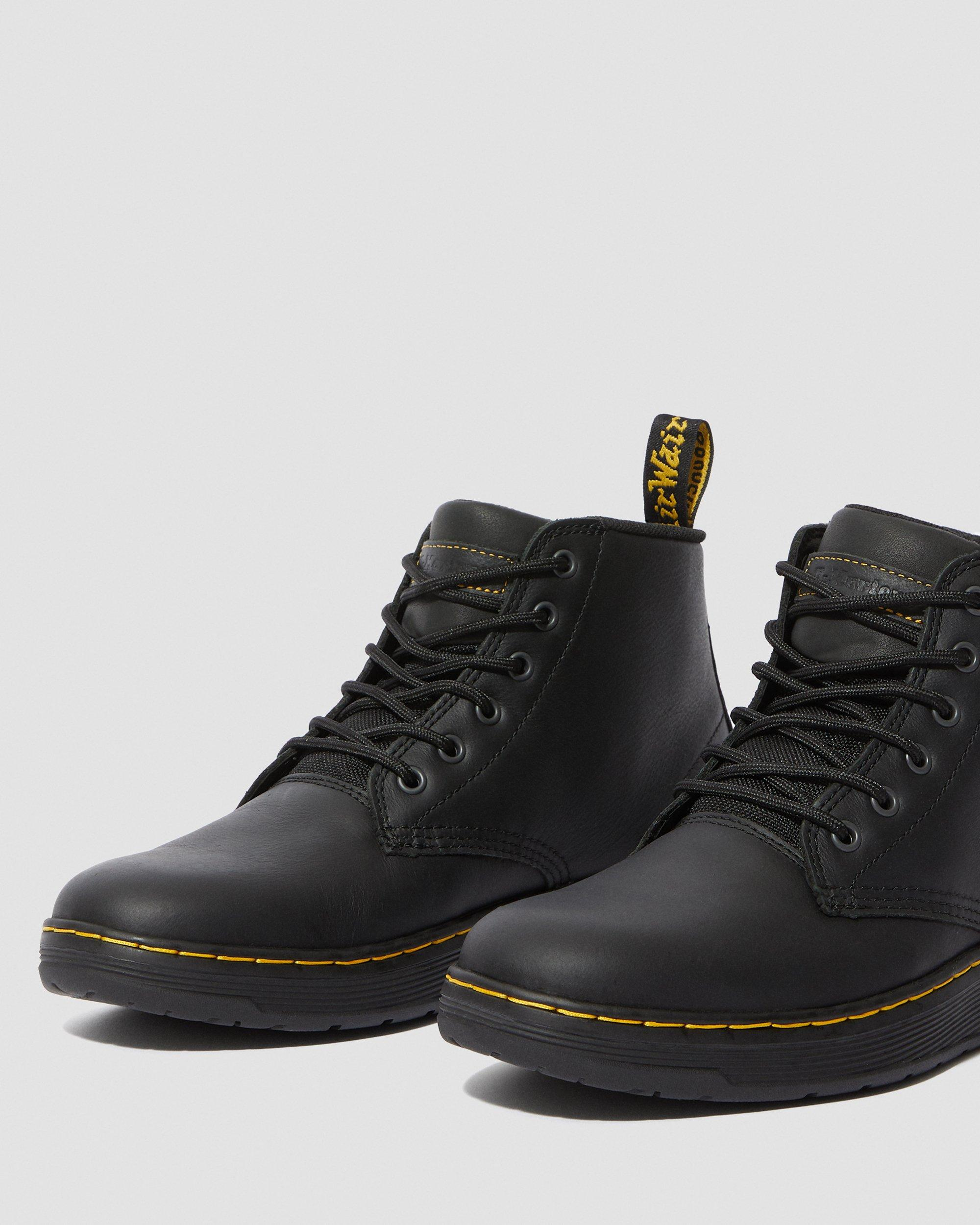 AMWELL SLIP RESISTANT LEATHER LACE UP