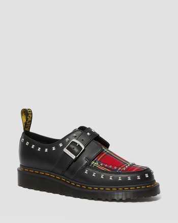 BLACK+RED STEWART | Shoes | Dr. Martens
