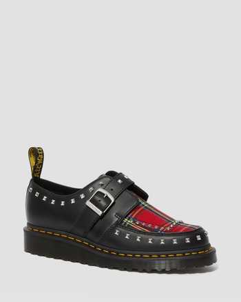 BLACK+RED STEWART | Shoes | Dr. Martens