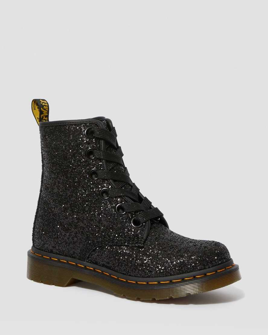 1460 WOMEN'S CHUNKY GLITTER LACE UP BOOTS   Dr Martens