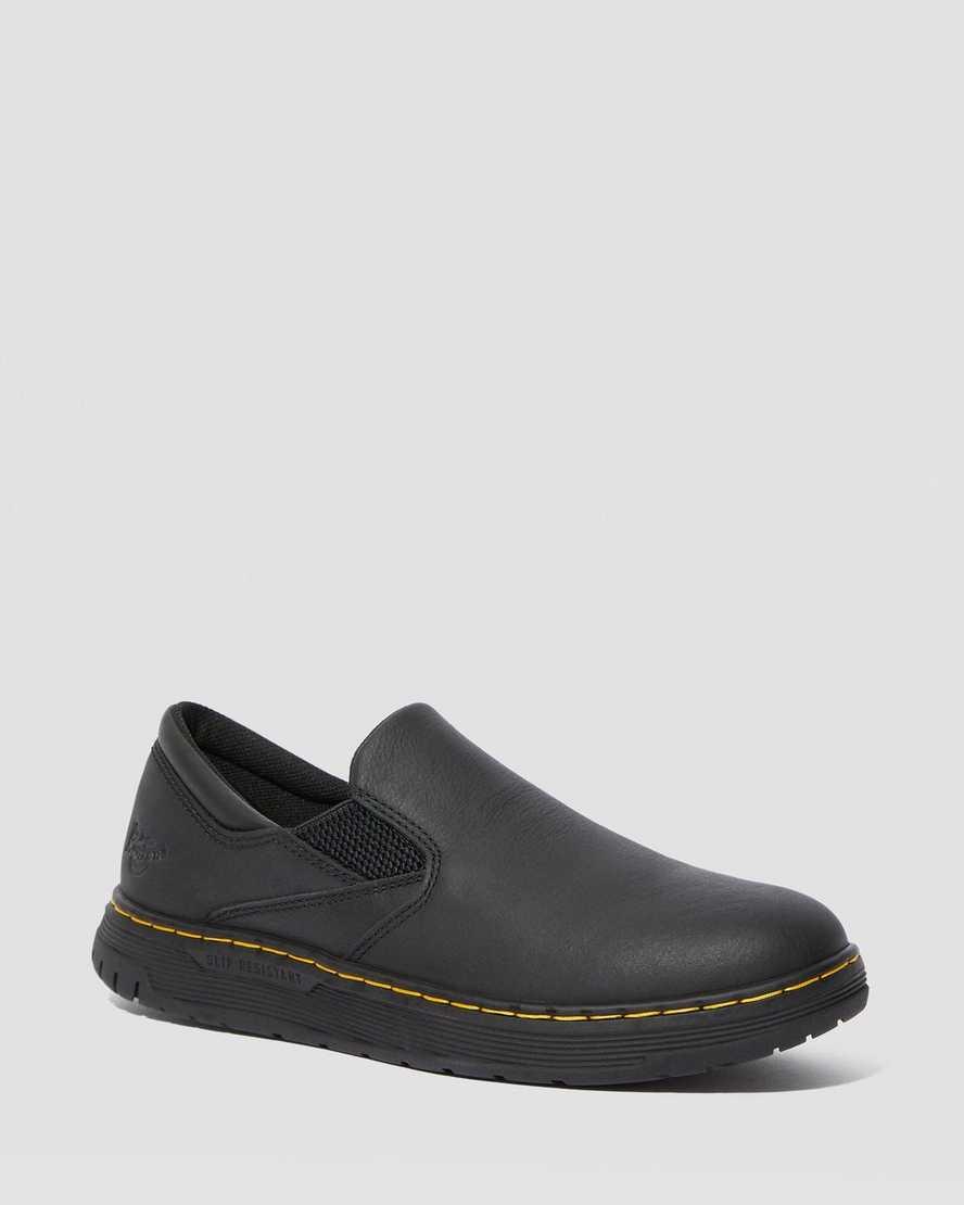 Brockley Slip Resistant Leather Work Shoes | Dr Martens
