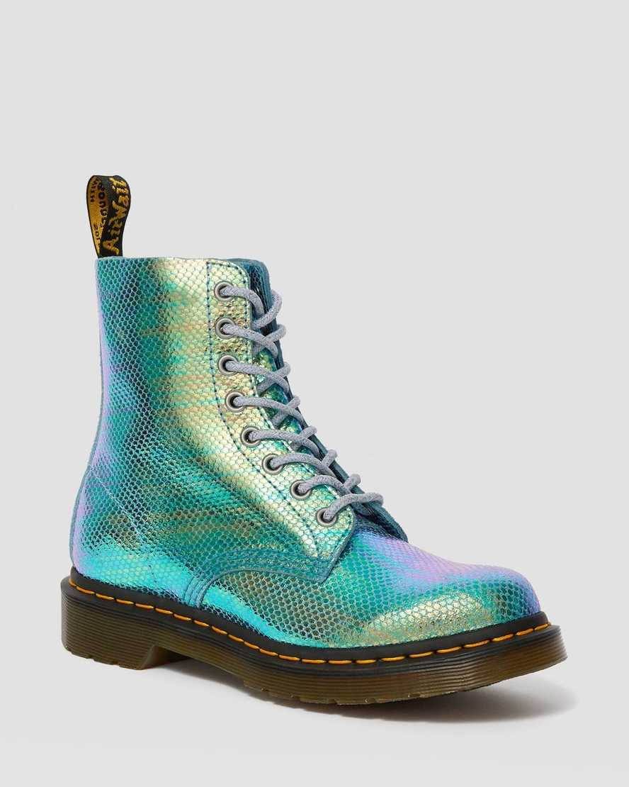 hot products wide range recognized brands DR MARTENS 1460 PASCAL IRIDESCENT