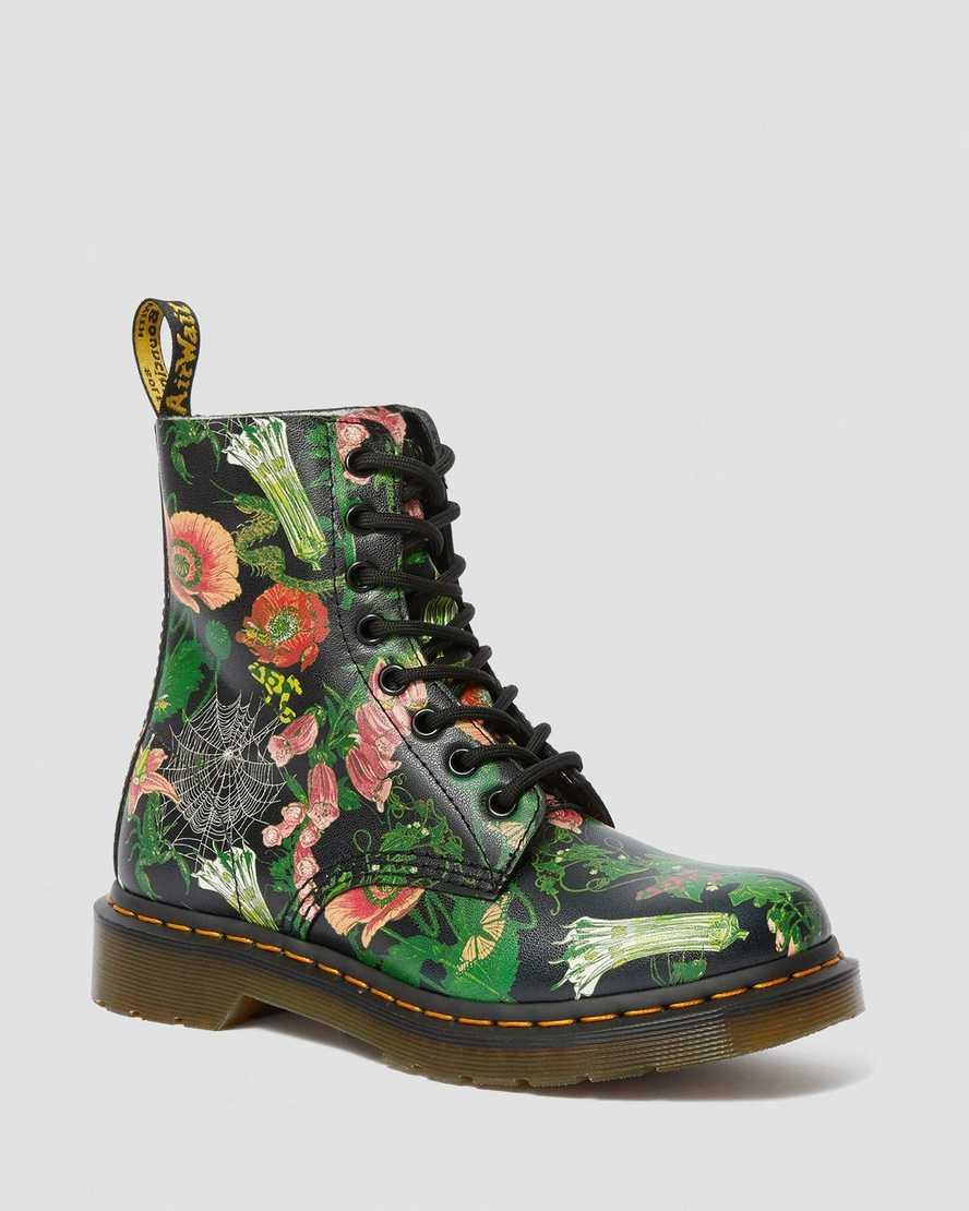 Dr Marten Boots Doc Martens Floral Ankle Boots size 11