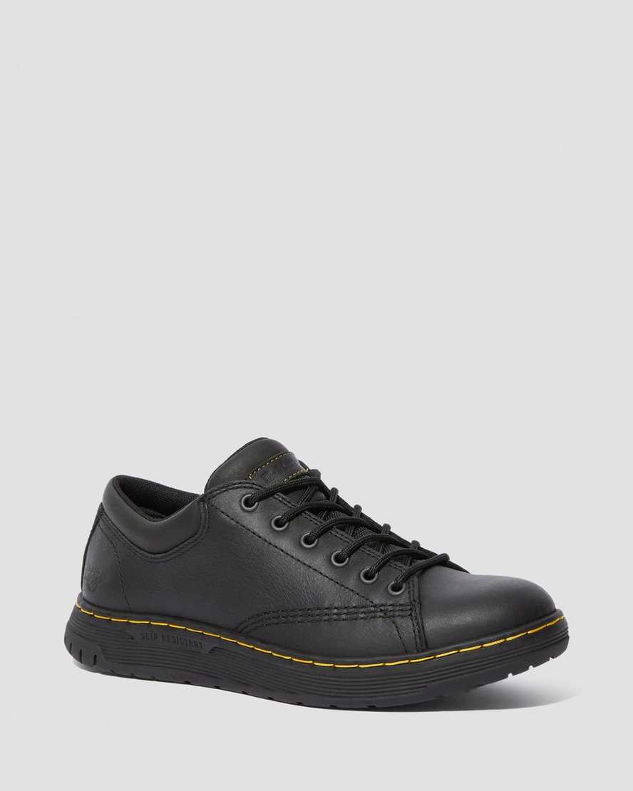 MALTBY SLIP RESISTANT LEATHER WORK SHOES | Dr Martens