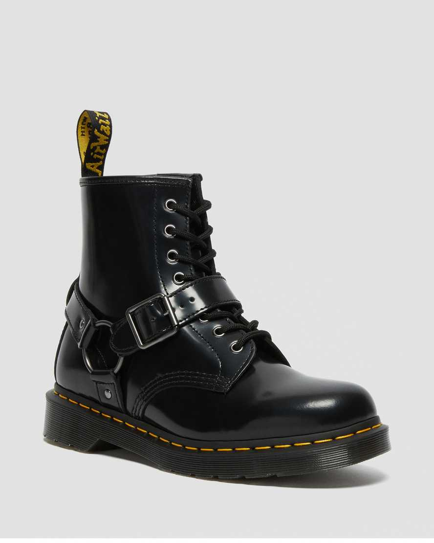https://i1.adis.ws/i/drmartens/25163001.88.jpg?$large$1460 Harness Leather Lace Up Boots | Dr Martens