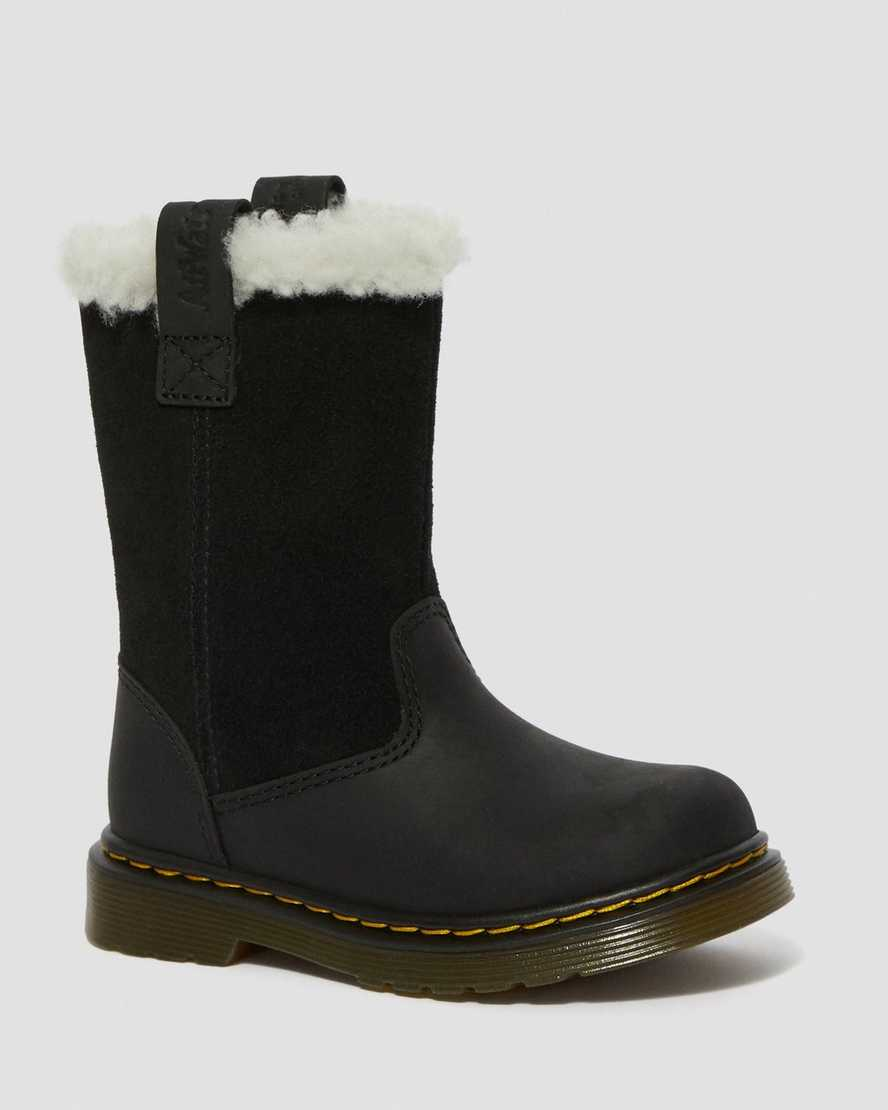storia Oltretutto Indipendentemente  TODDLER JUNEY FAUX FUR LINED TALL BOOTS | Dr. Martens Official