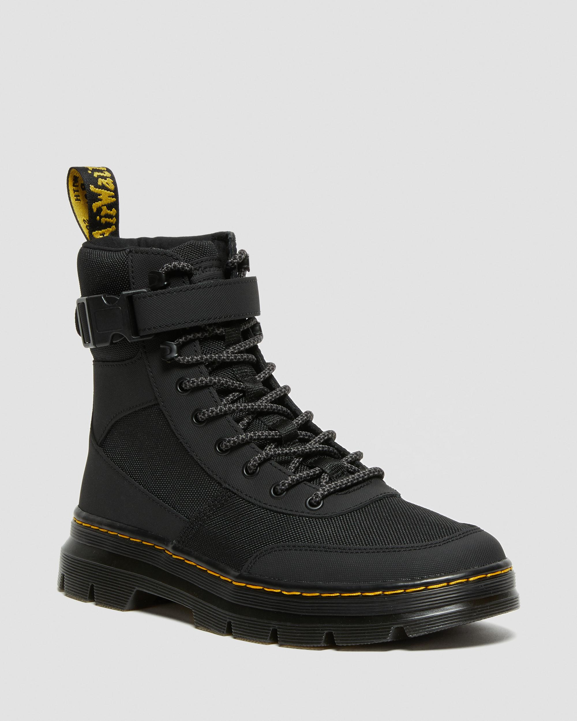 Mens Motorcycle Classic Faux Leather Split Lace Up Sneakers Hiking Martin Boots