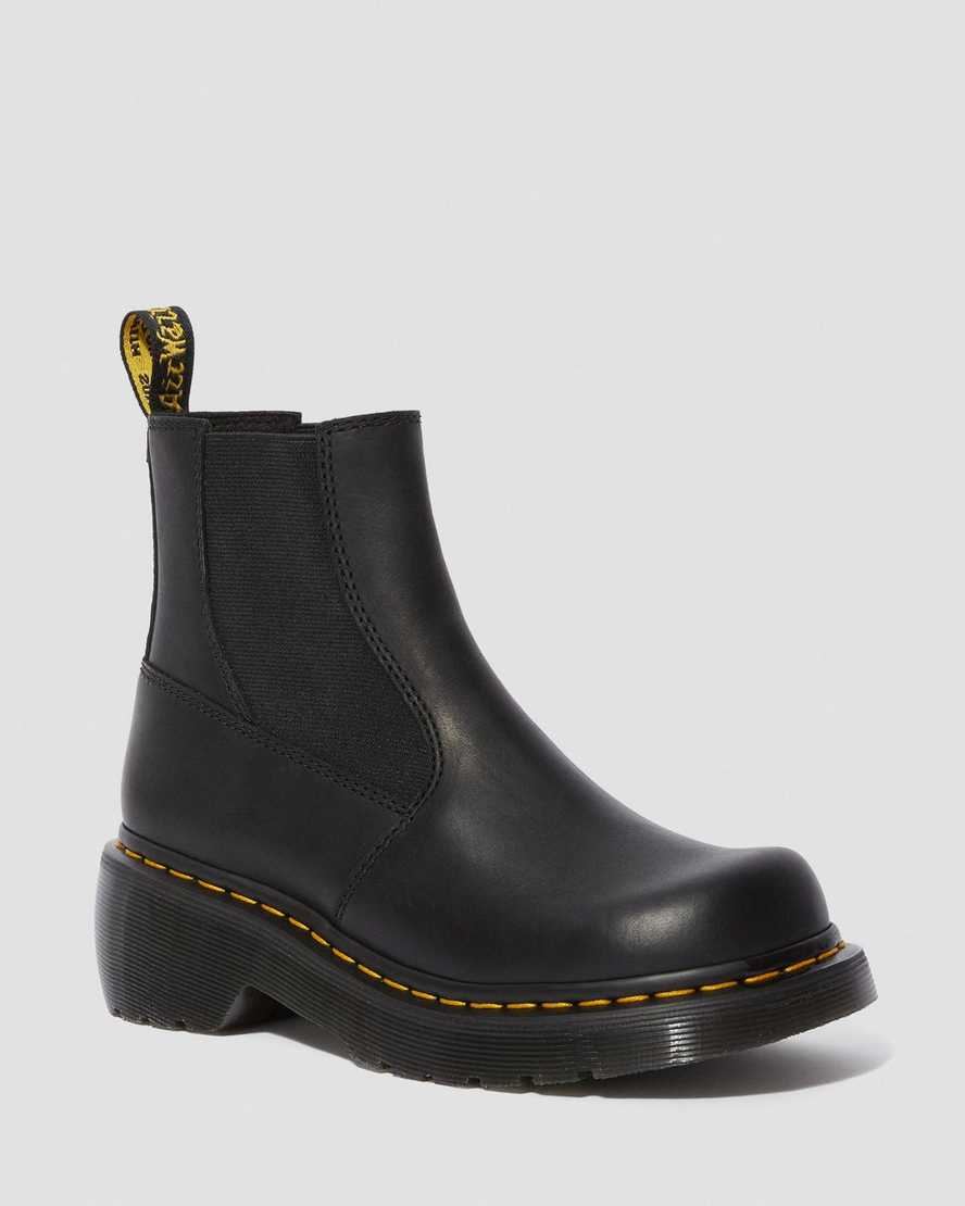 OATES LUXOR HEELED CHELSEA BOOTS | Dr Martens