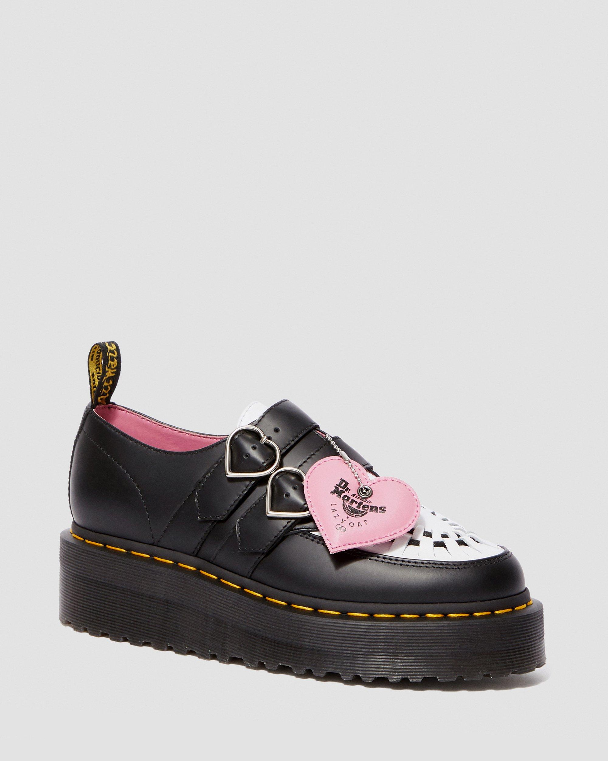DR MARTENS LAZY OAF BUCKLE CREEPER