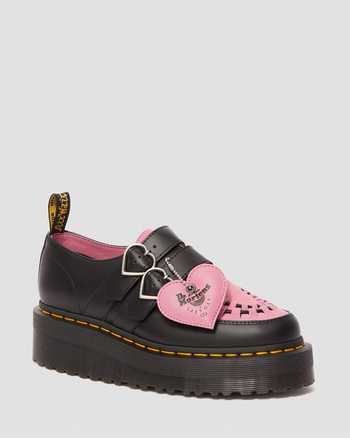 BLACK + PINK | Shoes | Dr. Martens
