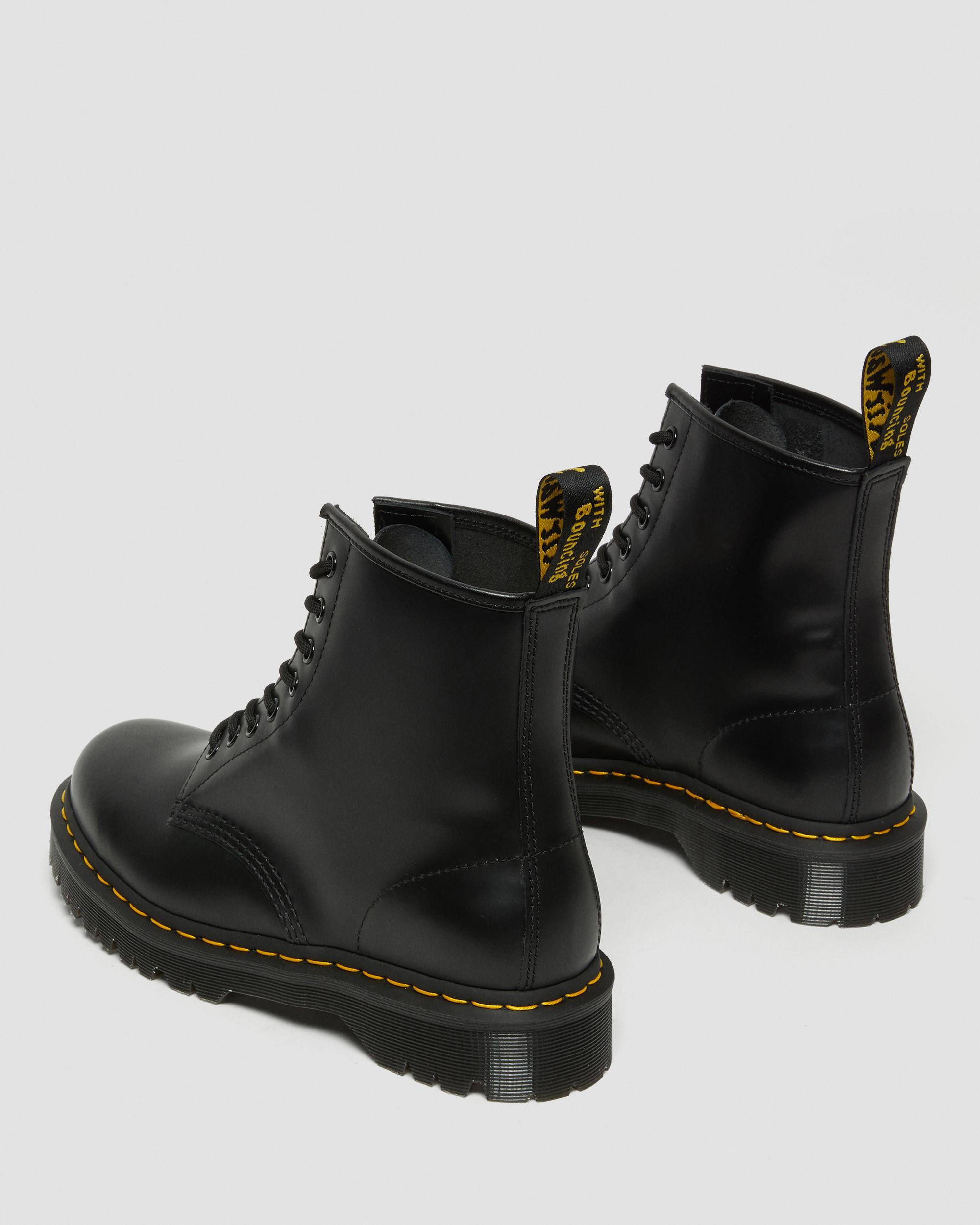1460 BEX SMOOTH LEATHER PLATFORM BOOTS