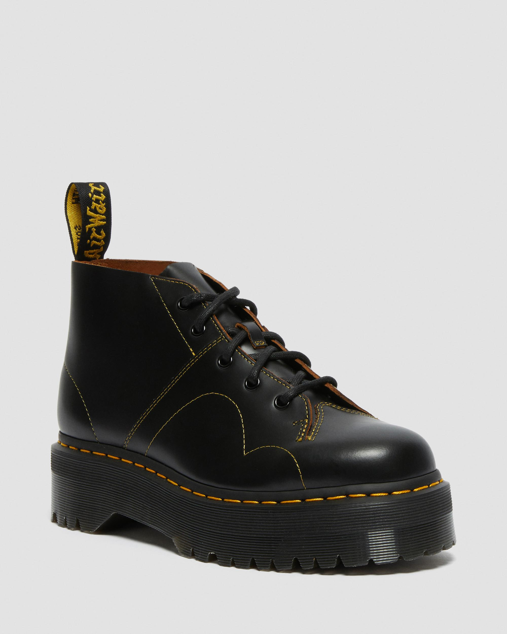 DR MARTENS CHURCH PLATFORM MONKEY BOOTS
