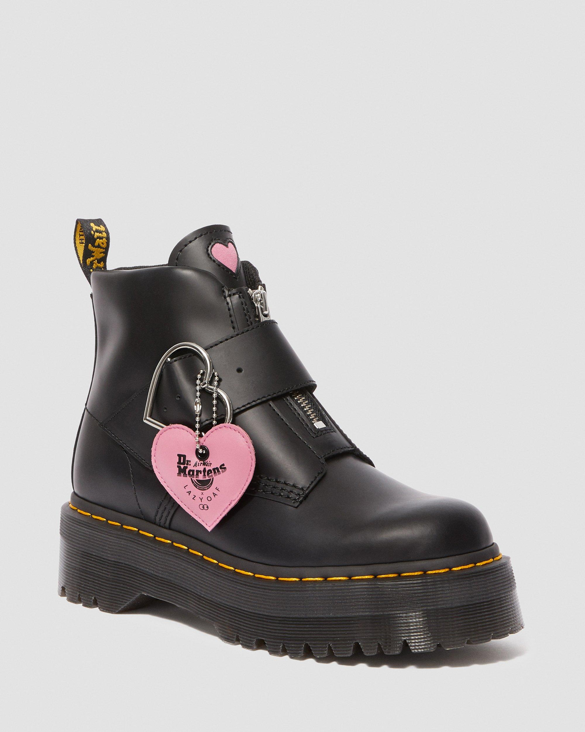 DR MARTENS LAZY OAF BUCKLE BOOT