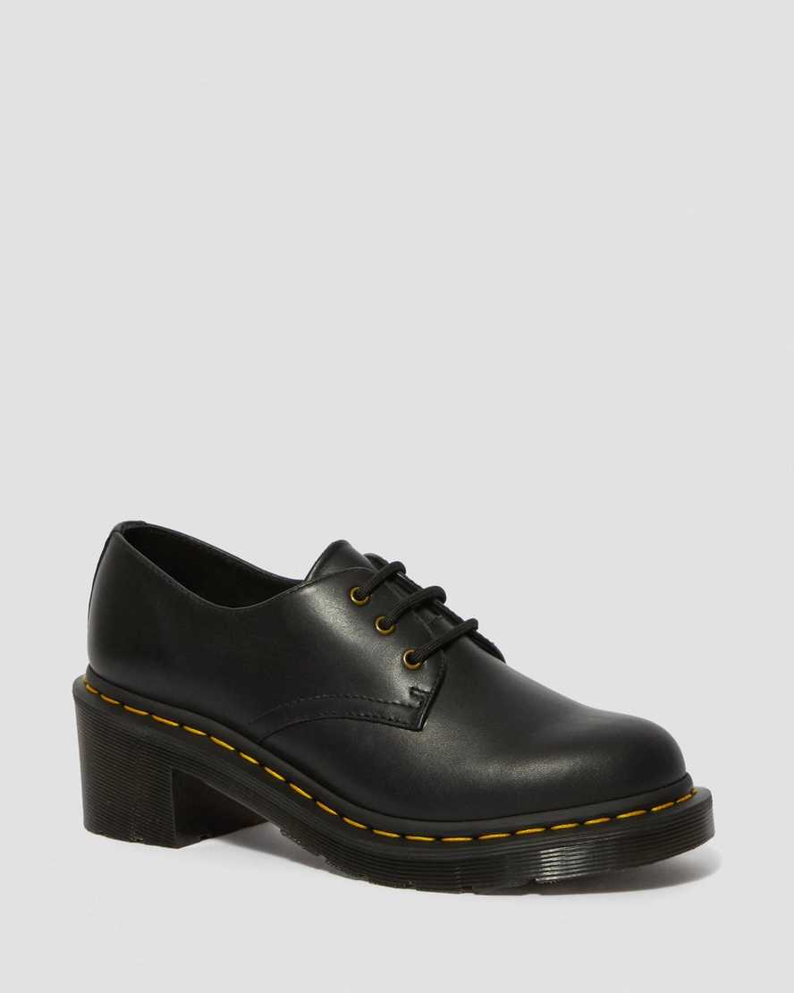 Amory Women's Wanama Leather Heeled Shoes | Dr Martens