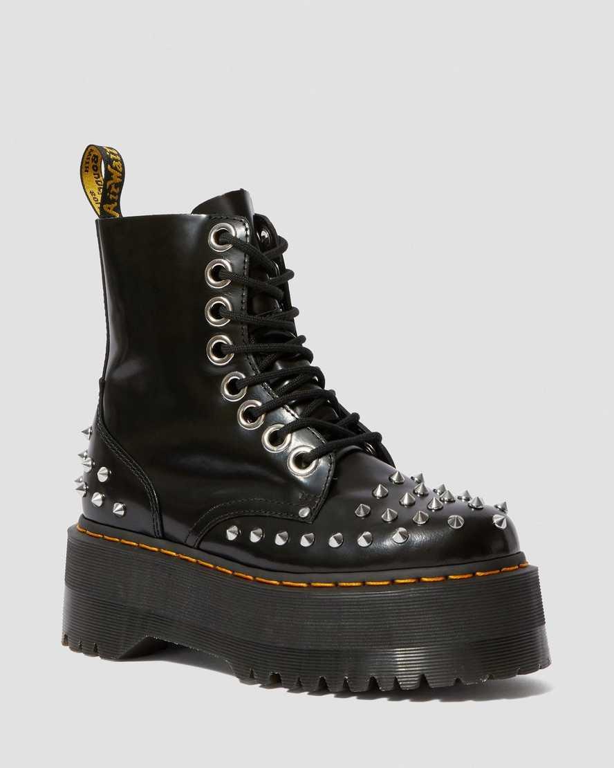 Jadon Max Women's Studded Platform Boots | Dr Martens