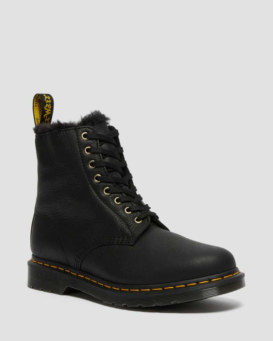 https://i1.adis.ws/i/drmartens/25533001.87.jpg?$large$1460 Pascal Men's Faux Fur Lined Lace Up Boots | Dr Martens