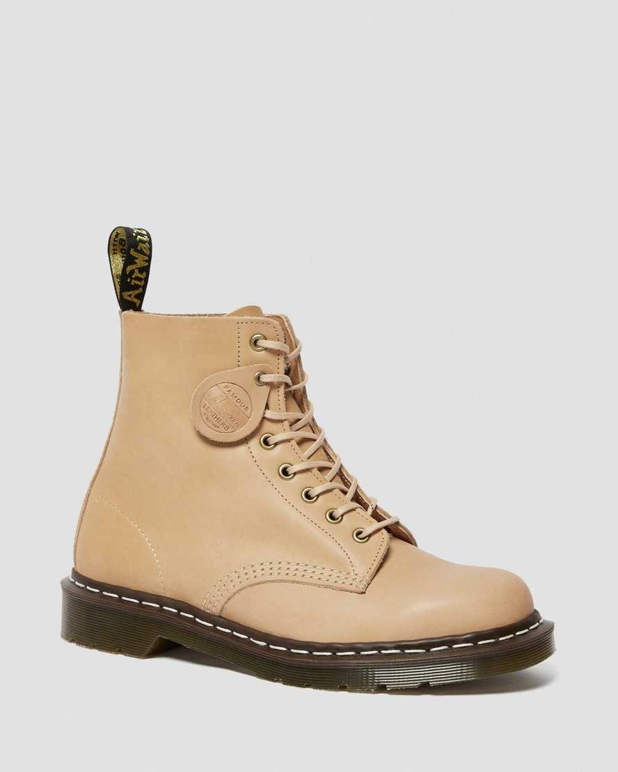 1460 Veg Tan Leather Lace Up Boots | Dr Martens