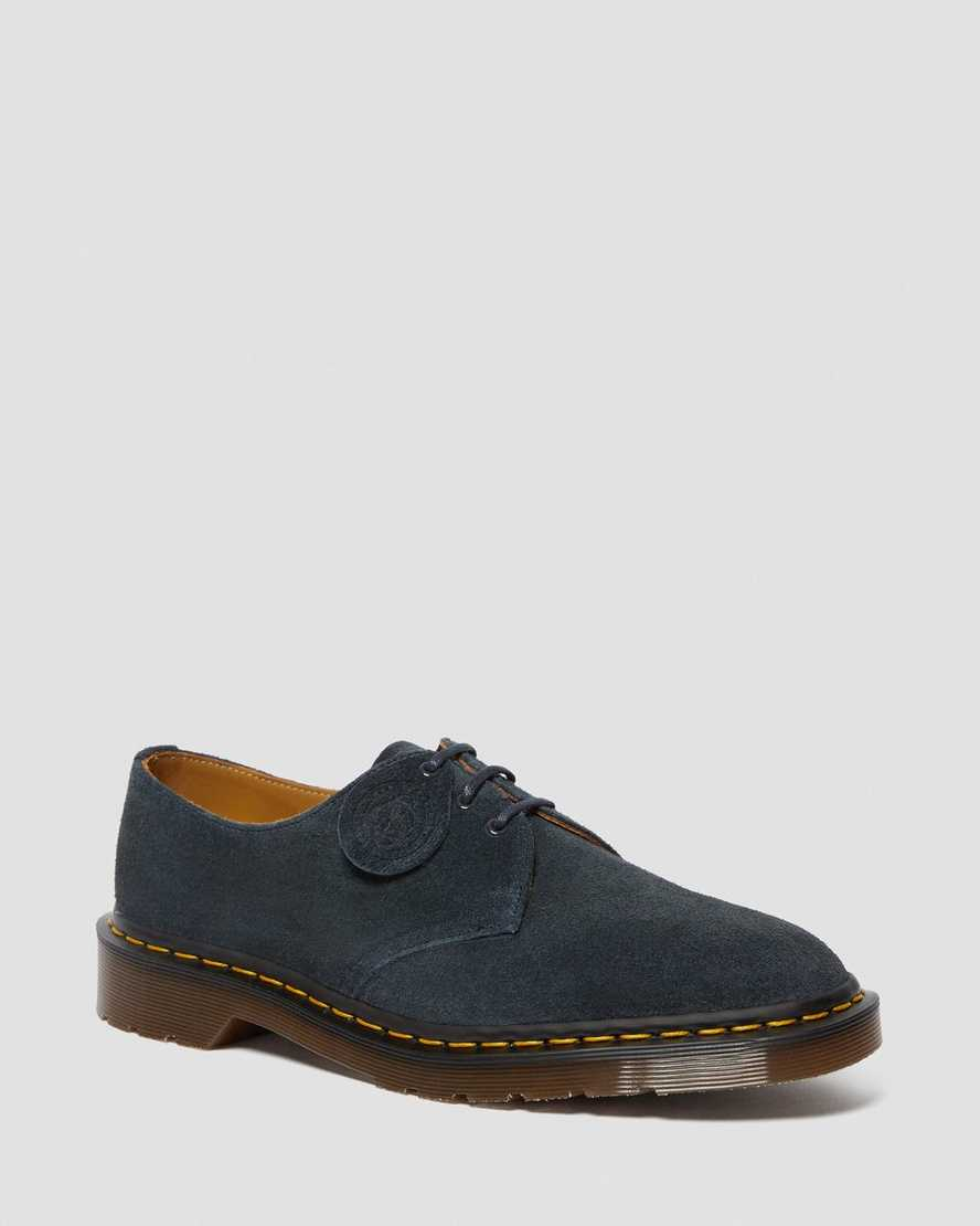 1461 Made In England Suede Oxford Shoes | Dr Martens