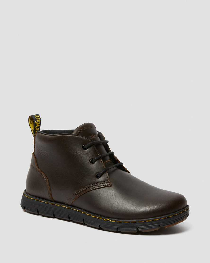 RHODES MEN'S LEATHER CHUKKA BOOTS   Dr. Martens Official
