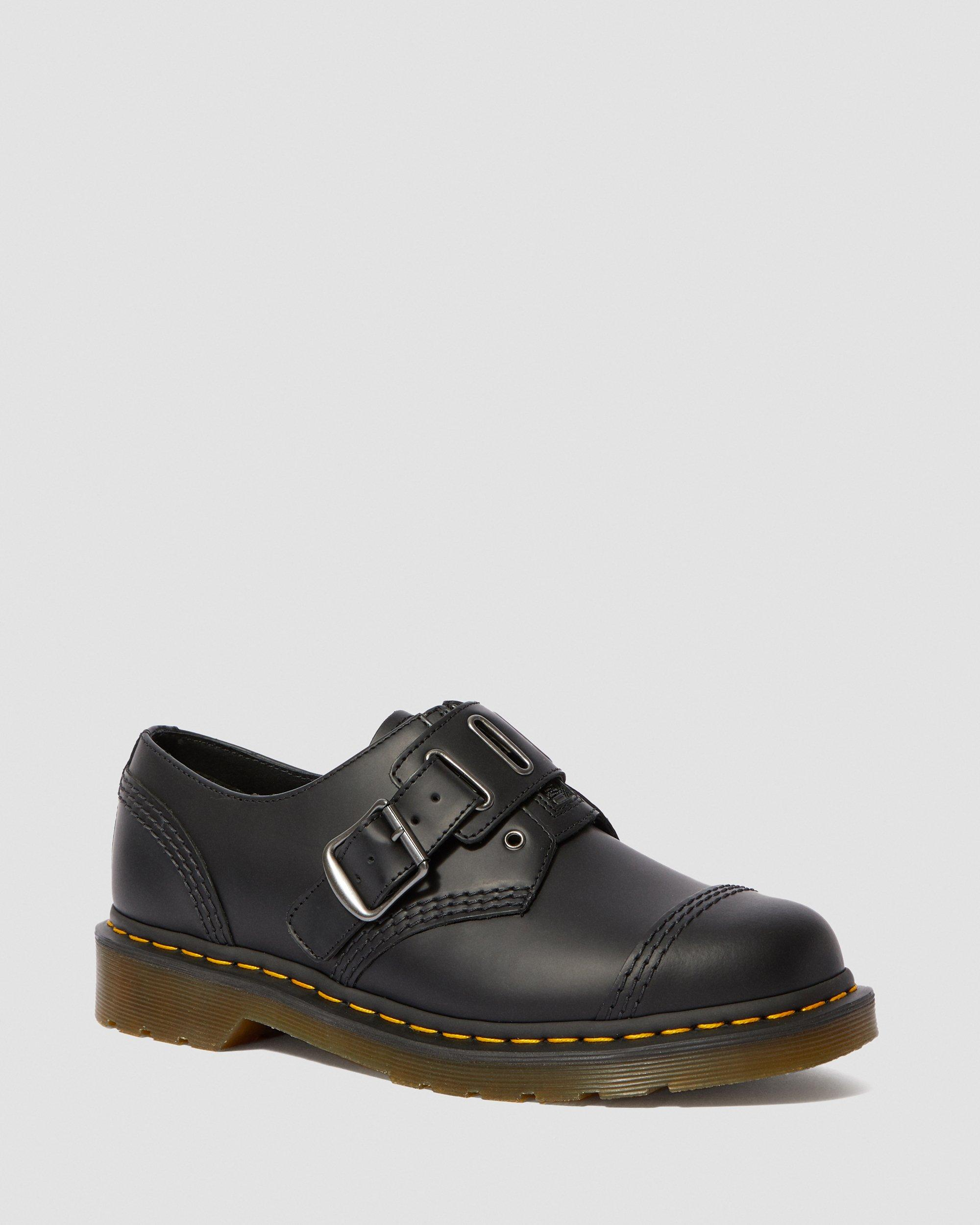 1461 QUYNN SMOOTH LEATHER BUCKLE SHOES