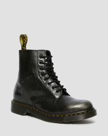 METALLIC SILVER | Boots | Dr. Martens