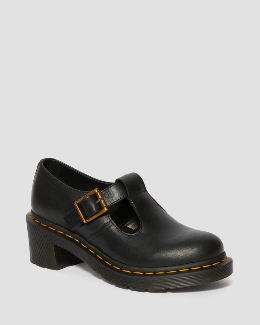 Sophia Women's Leather Heeled Mary Jane Shoes | Dr Martens