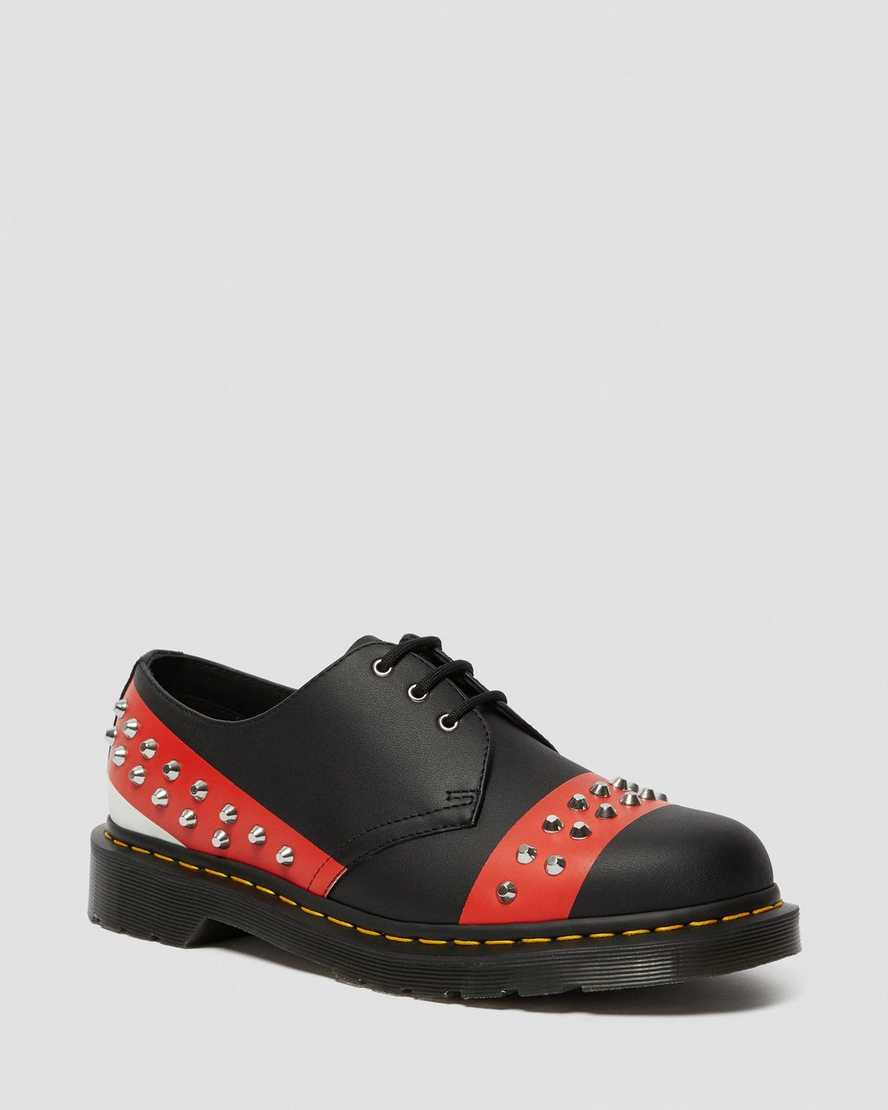 1461 LEATHER STUDDED OXFORD SHOES | Dr Martens