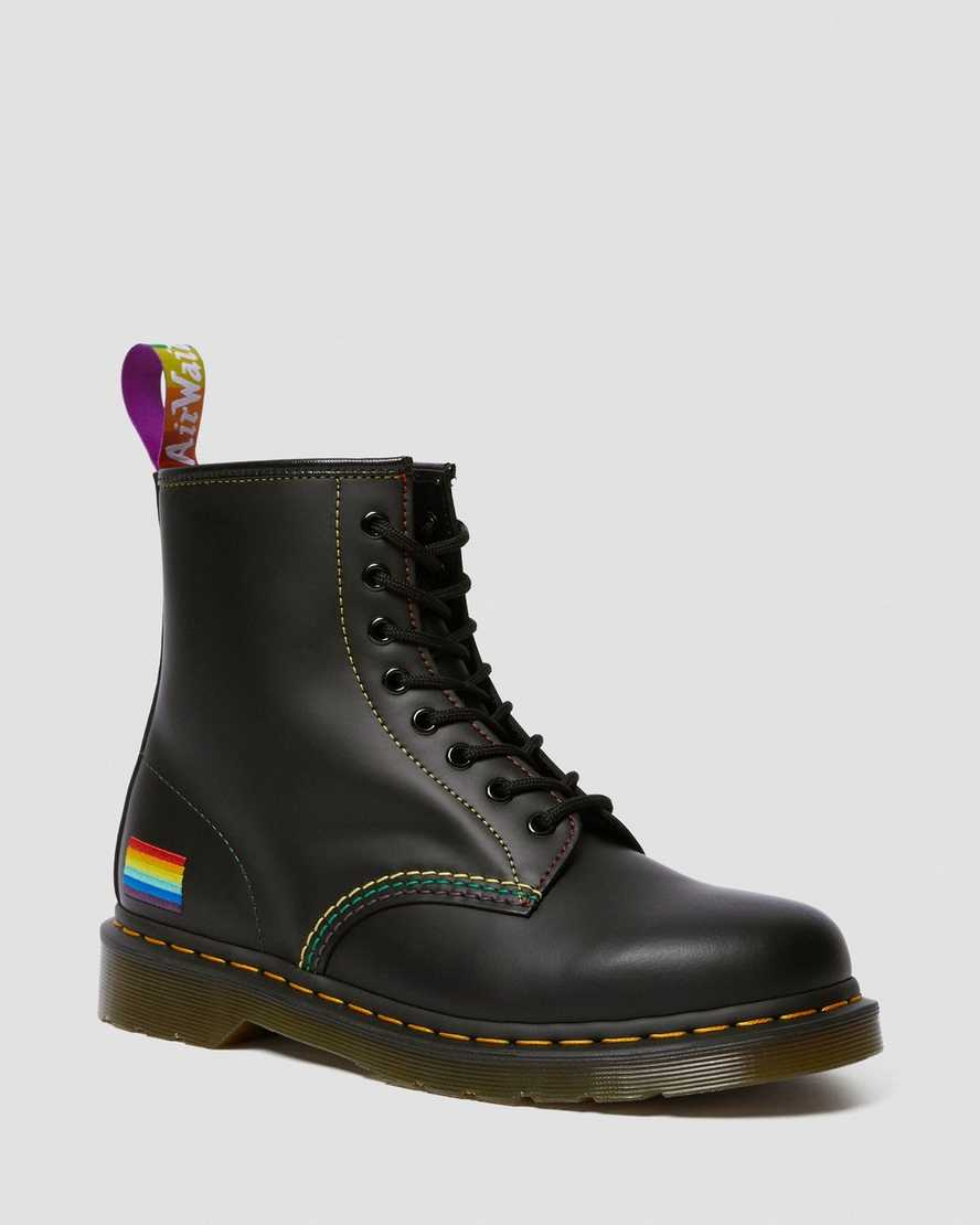 1460 For Pride Smooth Leather Lace Up Boots | Dr Martens