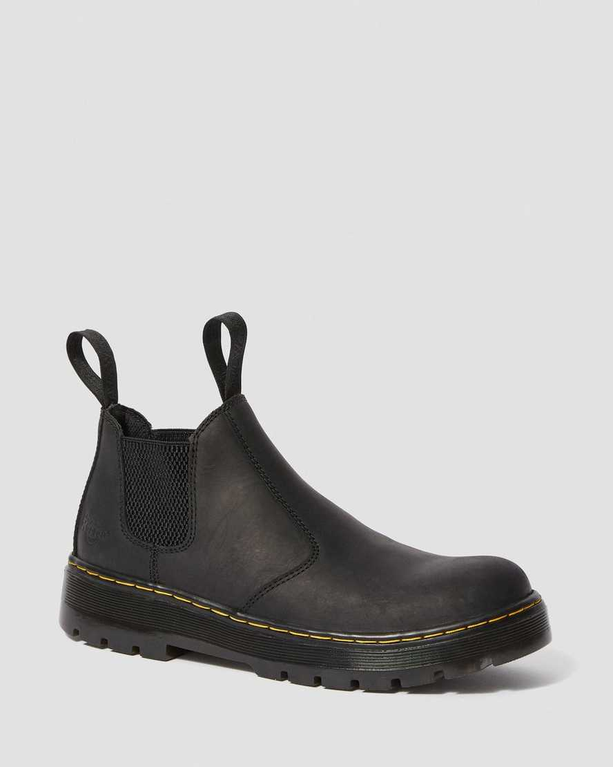 Hardie Connection Leather Chelsea Work Boots | Dr Martens