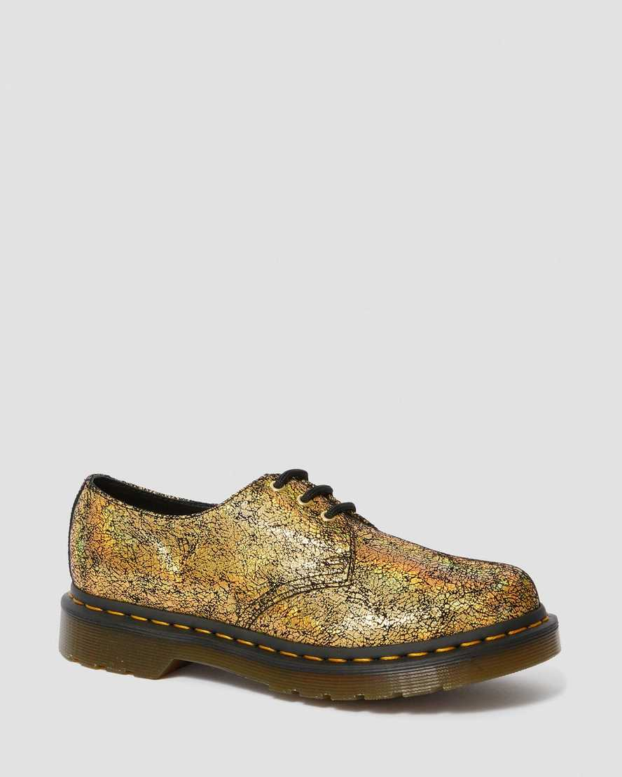 1461 Metallic Leather Oxford Shoes | Dr Martens