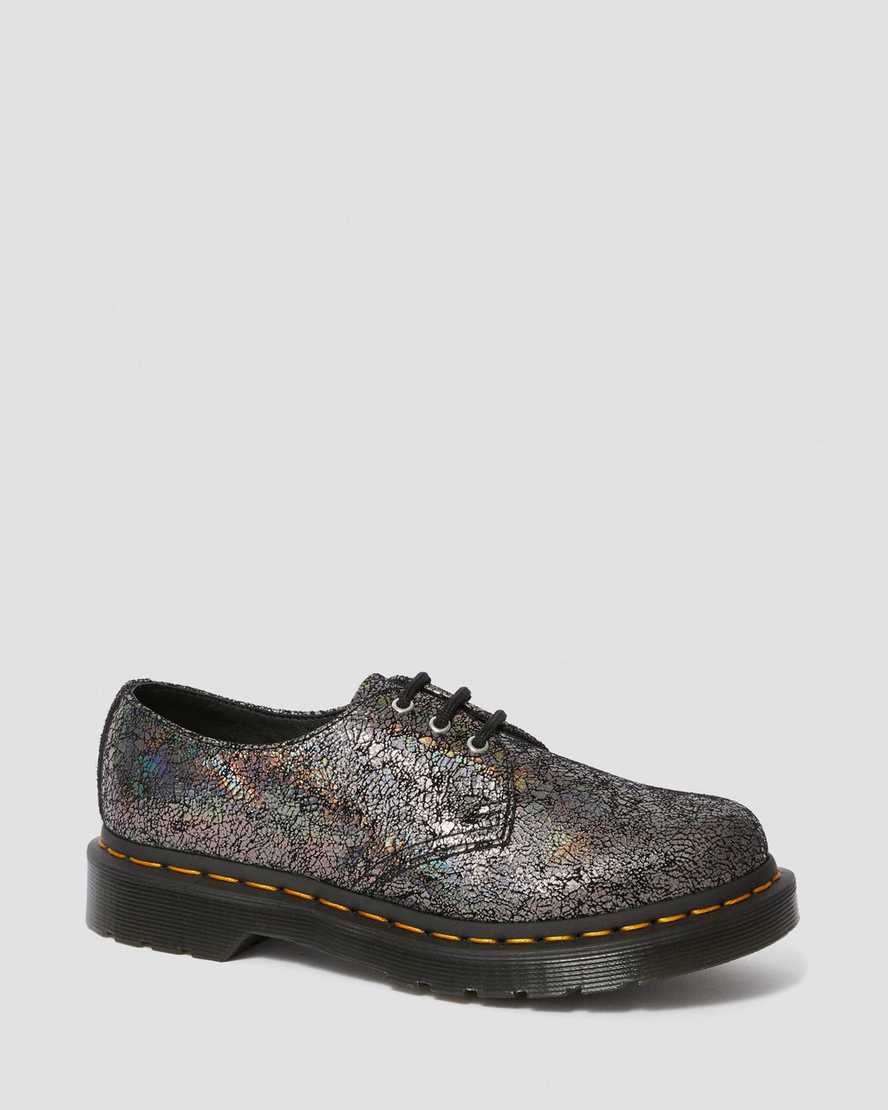 1461 METALLIC LEATHER OXFORD SHOES   Dr Martens