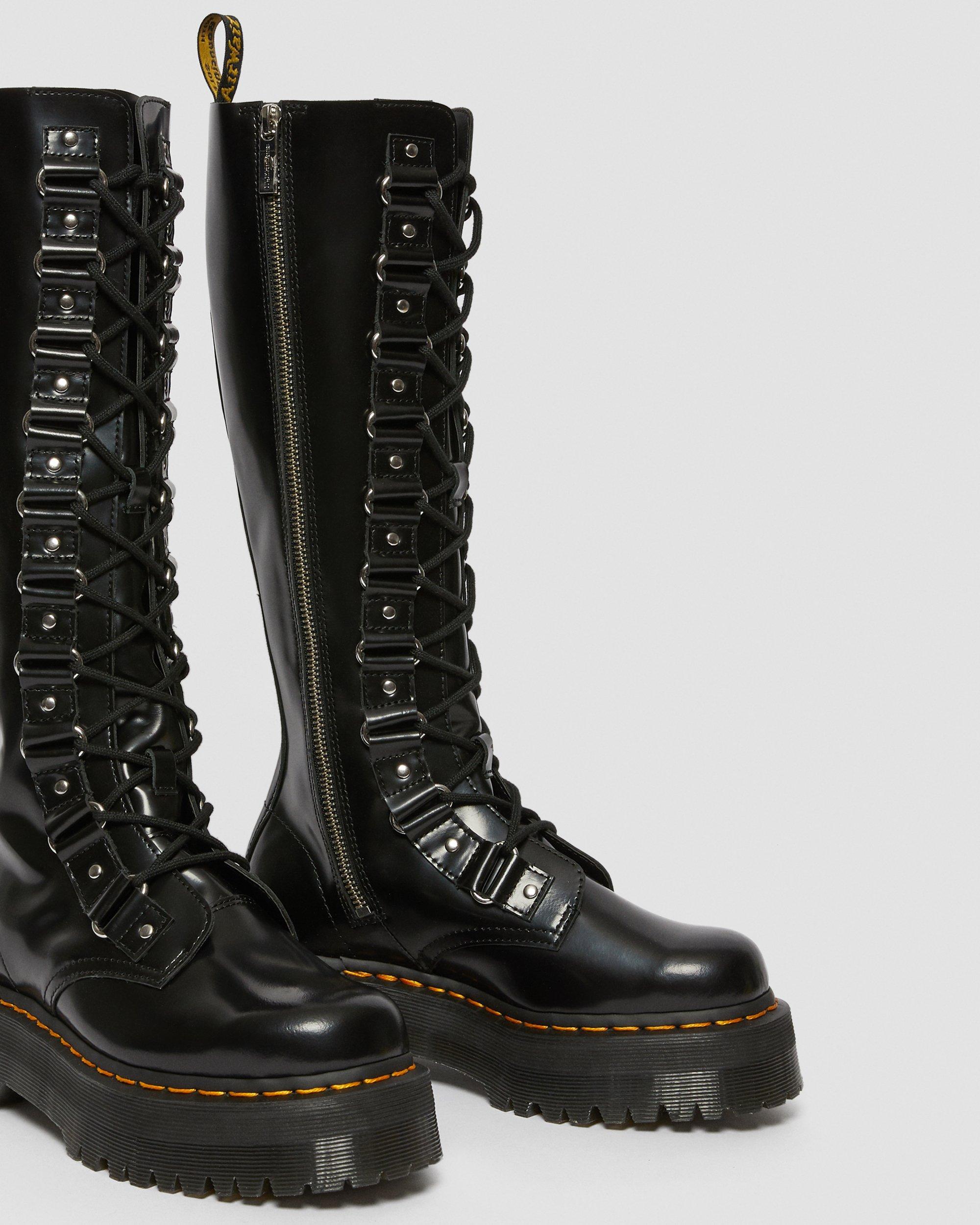 doc martin high boots