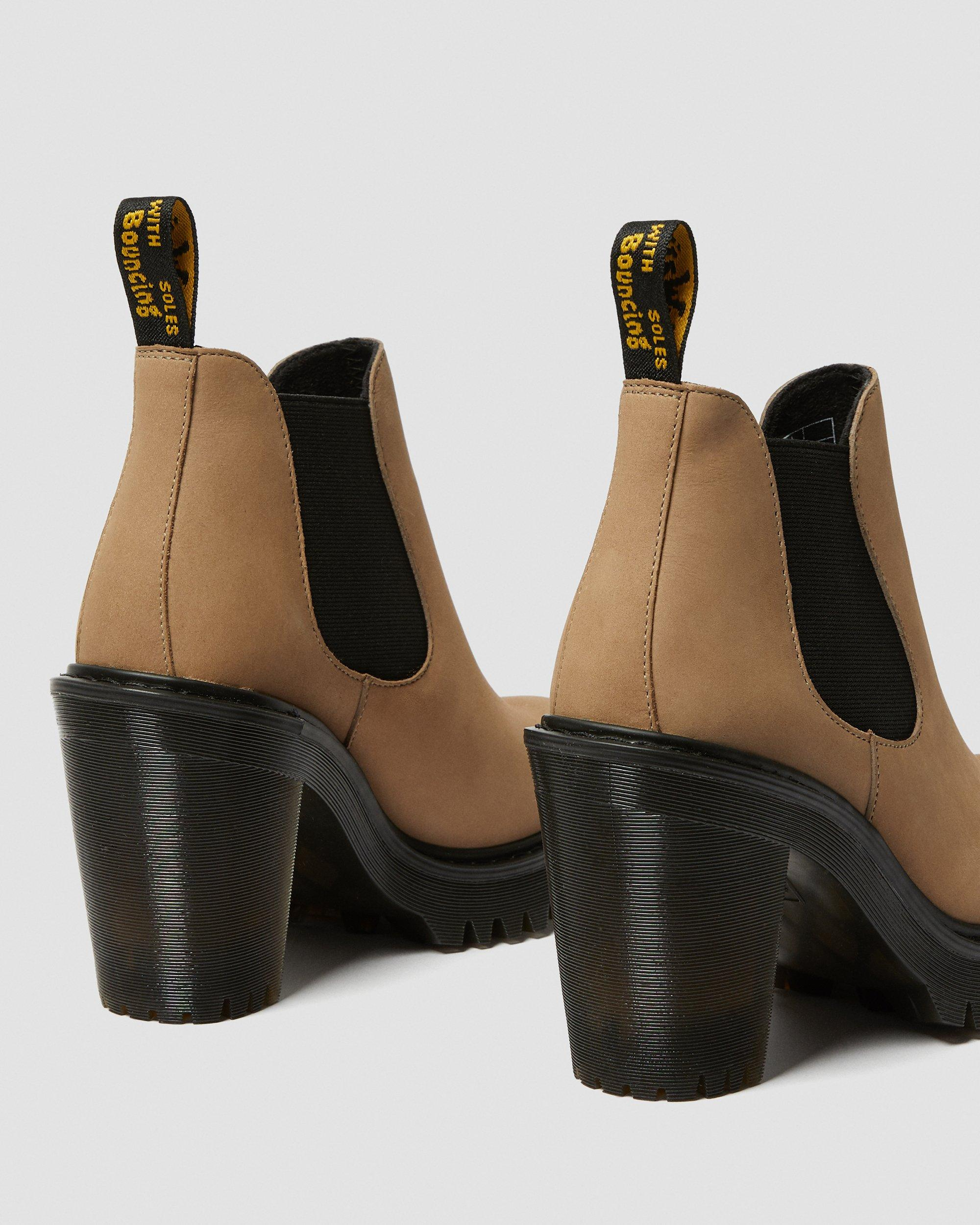 HURSTON WOMEN'S SUEDE HEELED CHELSEA BOOTS   New Arrivals