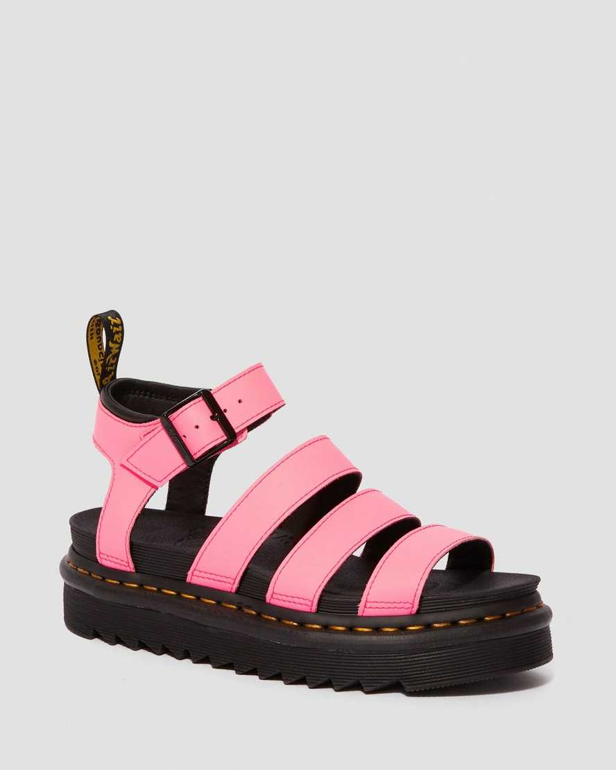 Blaire Women's Hydro Leather Gladiator Sandals   Dr Martens