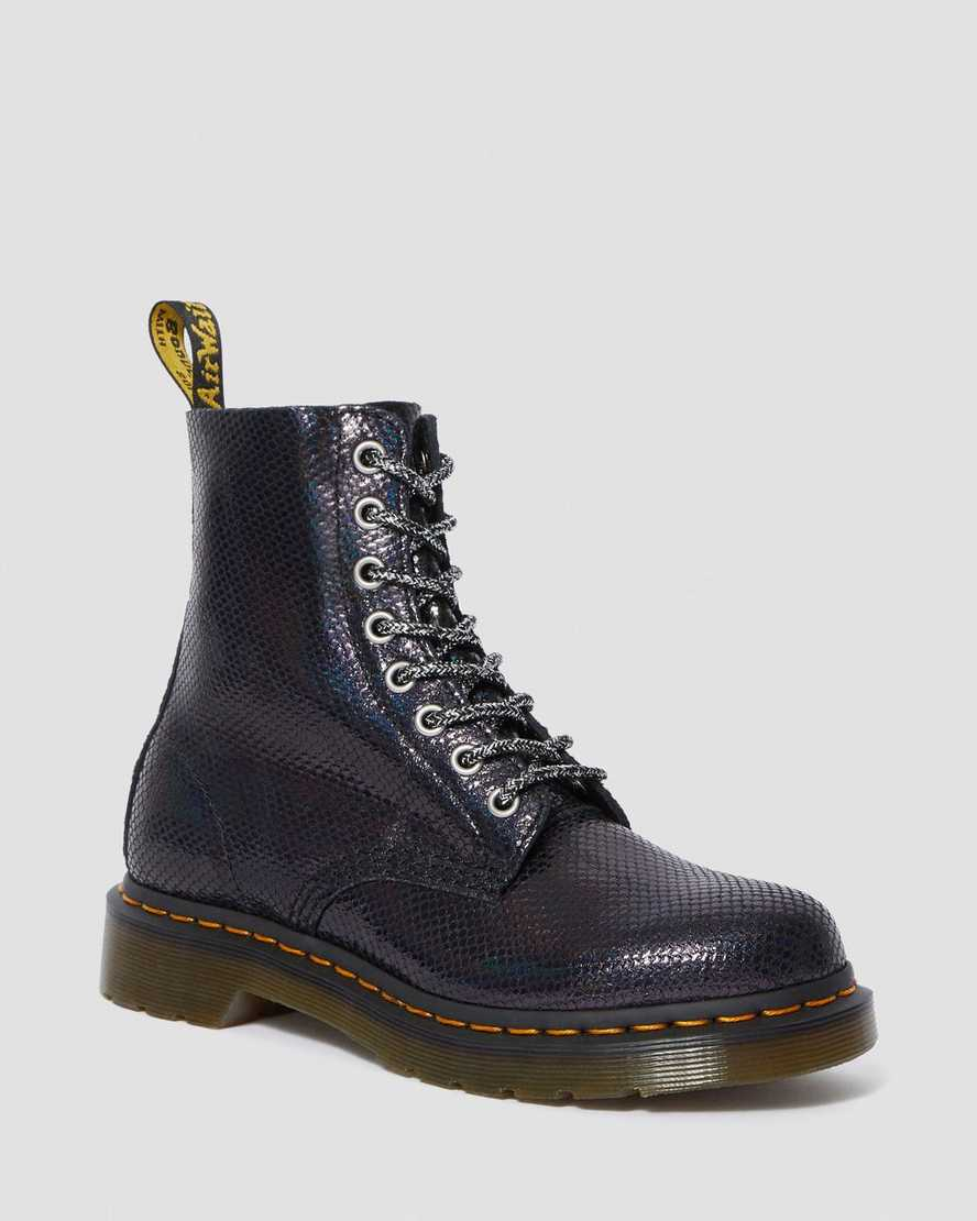 1460 PASCAL IRIDESCENT ANKLE BOOTS | Dr Martens