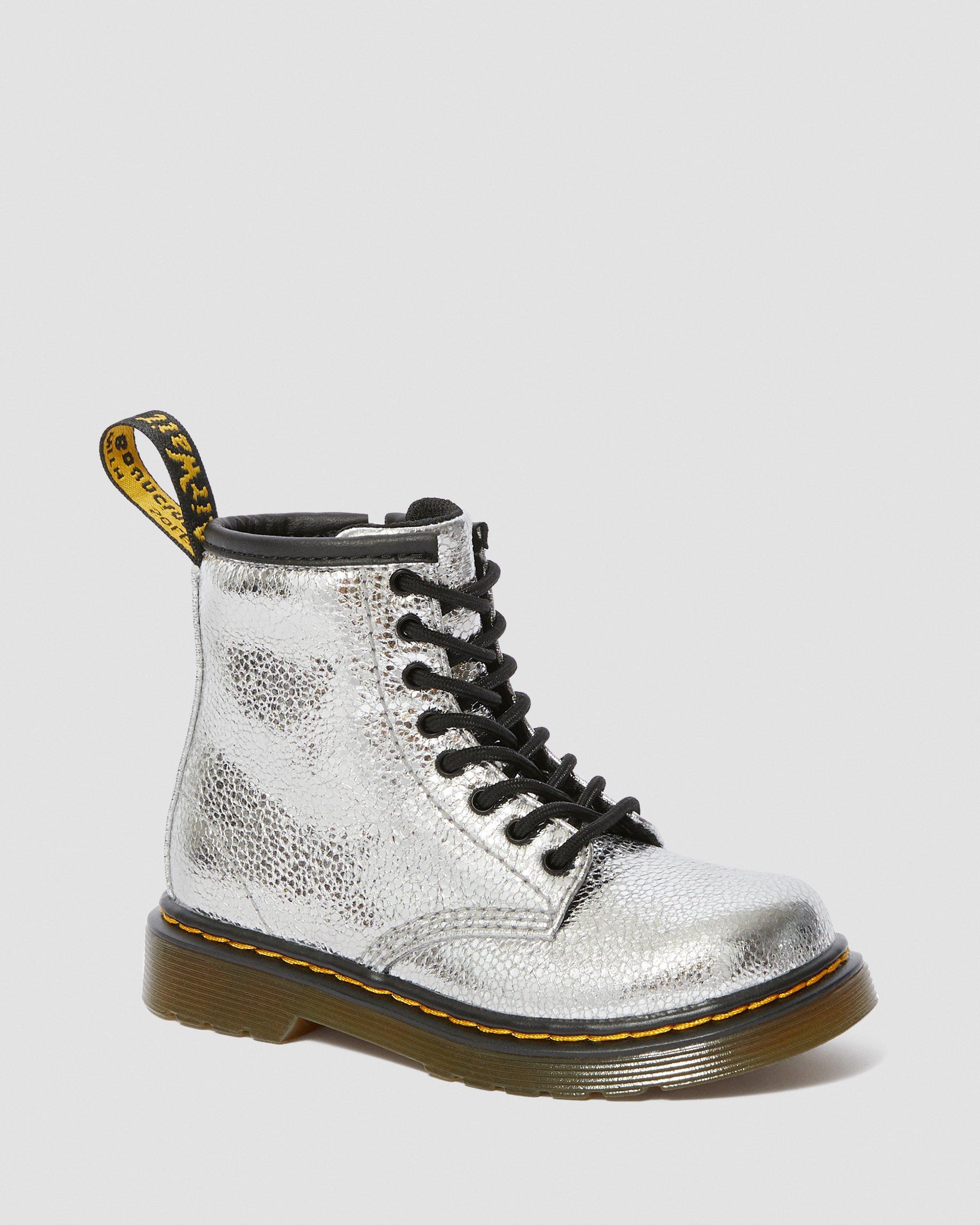 Toddler 1460 Crinkle Metallic Boots