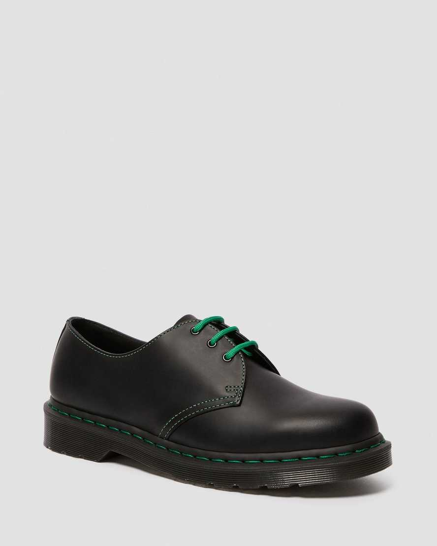 1461 Contrast Stitch Smooth Leather Oxford Shoes   Dr Martens
